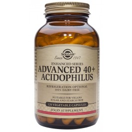 40+ACIDOFILUS ADVANCED 60 cápsulas