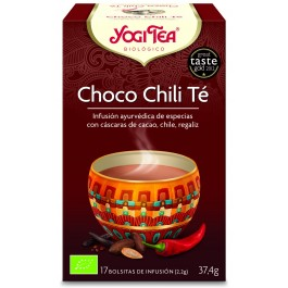 YOGI TEA CHOCOLATE Y CHILI 17 BOLSITAS